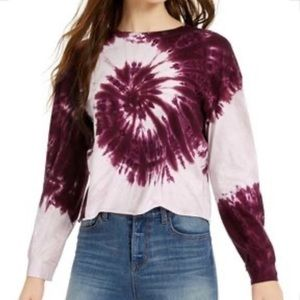Rebellious One Tie Dye Long Sleeve Shirt